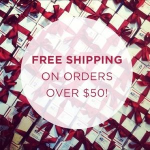 Free shipping on all bundles over $50